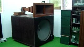 getlinkyoutube.com-J.S.Bach cello suites + Western Electric 124 + Wooden Horns system