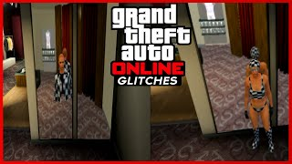 getlinkyoutube.com-GTA 5 Online: FEMALE Invisible Legs, Arms, & Body + Checkerboard Outfit 1.24/1.25/1.26