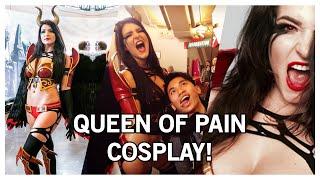 getlinkyoutube.com-KittyPlaysGames Queen of Pain Cosplay (The International 5)