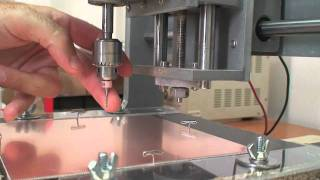 Double Sided PCB CNC Milling