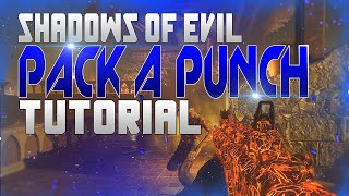 "getlinkyoutube.com-Black Ops 3 Zombies Shadows of Evil - ""PACK A PUNCH/ ALLE RITUALE"" Tutorial SOLO/TEAM (GERMAN)"