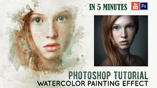 getlinkyoutube.com-Watercolor Painting Effect | Tutorial | IN 5 MINUTES