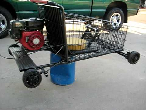Shopping Go Kart Homemade