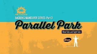 getlinkyoutube.com-Parallel Parking  Blind Side & Driver Side micro lesson