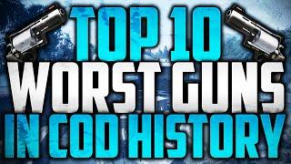 getlinkyoutube.com-Top 10 Worst Guns In Call of Duty History
