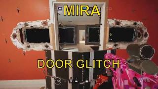 getlinkyoutube.com-Rainbow Six Siege - Mira Impassable Door Glitch