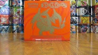 getlinkyoutube.com-Pokemon Evolutions Elite Trainer Box Opening