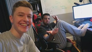 SPEAKING GERMAN AT THE FAZE HOUSE!