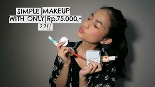 Chatty   Simple Makeup With Only Rp.75.000 ?!