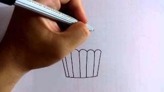 getlinkyoutube.com-สอนวาดรูปการ์ตูน คัพเค้ก อย่างง่ายๆ โดย วาดการ์ตูนกันเถอะ