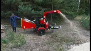 Skorpion 120SD - дробилка древесных отходов TEKNAMOTOR