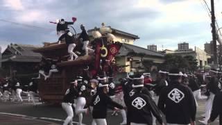 getlinkyoutube.com-[60fps] 2015年10月12日(月) 信太・幸 だんじり祭り 後宮午後曳行