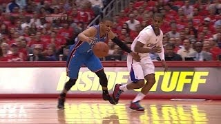 getlinkyoutube.com-Russell Westbrook vs Chris Paul Full Highlights 2014 WCSF G6 Thunder at Clippers