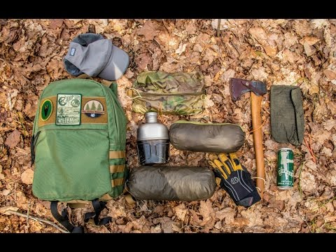 New Backpack and Gear Loadout for a Spring Overnight Camp