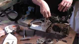 getlinkyoutube.com-Motorsäge Stihl 026 zerlegen, reinigen, zusammenbauen