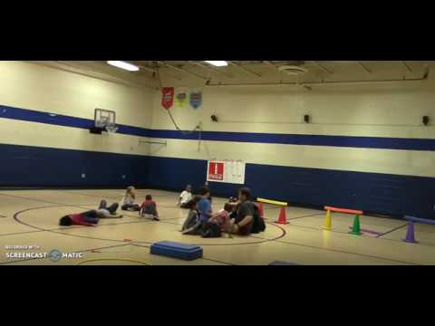 Jumping and Landing in Elementary Physical Education (Kindergarten)
