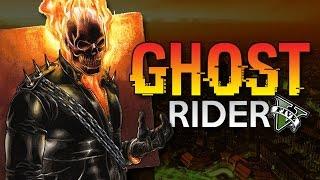 GTA 5 Mod - GHOST RIDER !! - Momen Lucu GTA