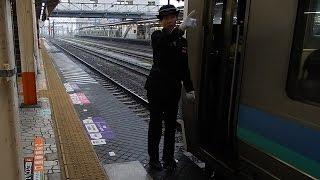 getlinkyoutube.com-中央線211系普通列車 女性車掌による二カ国語車内放送