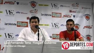 Luis Fernando Tena y Yosgart Gutierrez en Chicago
