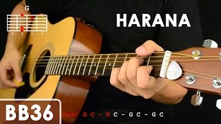 getlinkyoutube.com-Harana - Parokya ni Edgar Guitar Tutorial (includes strumming patterns and chords)