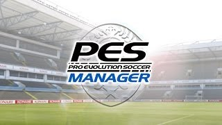 getlinkyoutube.com-PES Manager / Pro Evolution Soccer Manager - iOS / Android - HD (Sneak Peek) Gameplay Trailer