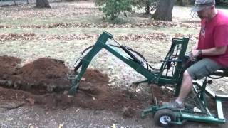 getlinkyoutube.com-New Tow-able backhoe trenching .