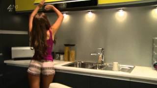 getlinkyoutube.com-Rachel Shenton Shaking Her Ass In Tight Shorts [HD]