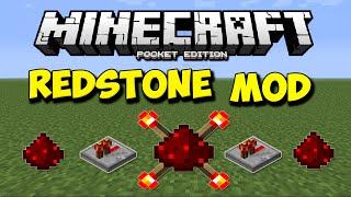 getlinkyoutube.com-REDSTONE MOD PARA MINECRAFT PE 0.12.1 l Mods Para Minecraft PE 0.12.1