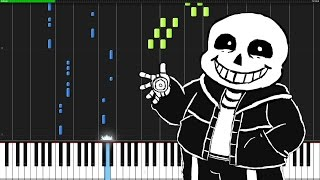 getlinkyoutube.com-Megalovania - Undertale [Piano Tutorial] (Synthesia)
