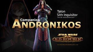 getlinkyoutube.com-SWTOR: Sith Inquisitor - Andronikos Revel Romance Conversations