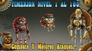 Monster Legends - Timerion (Nivel 1 al 100) + Combate