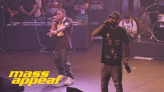 Dave East - Forbes List (ft. Nas) (live SXSW)
