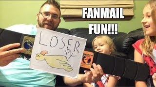 getlinkyoutube.com-FAN MAIL FUN! Grim opens tons of YOUR letters and packages w/his kids!! June 21, 2014