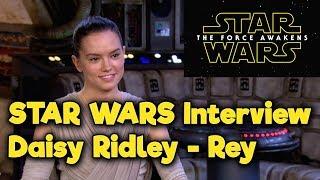 getlinkyoutube.com-Star Wars - The Force Awakens - Access All Areas - Daisy Ridley