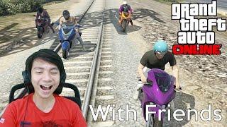 getlinkyoutube.com-Gila Balapan - Grand Theft Auto V Online - GTA 5 With Friends