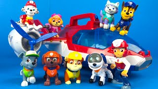 getlinkyoutube.com-Paw Patrol Road Trip Part 1 - Air Patroller Airplane and Helicopter - Patrulla de Chachorros