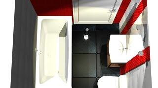 getlinkyoutube.com-Projekt małej łazienki PRO100