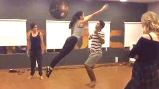 Katrina Kaif's Dance Training Video With Choreographer