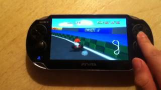 getlinkyoutube.com-Mario Kart 64 On Ps Vita (N64 Daedalus Emulator)