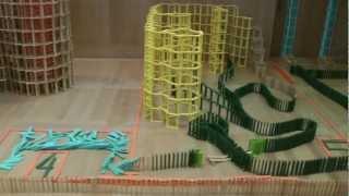 HTK#39 - Kapla domino : 7 boxes