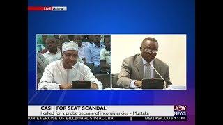 Cash For Seat Saga [Part 2] - Joy News Today (11-1-18)