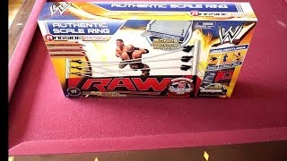 getlinkyoutube.com-WWE Authentic Scale Ring Ringside Collectibles Exclusive Unboxing, Construction & Review!!