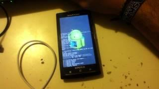 getlinkyoutube.com-Como actualizar tu xperia x10A/I/S o sin terminal a android 4.1.2