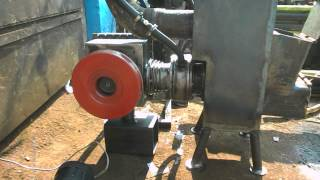 getlinkyoutube.com-Beta Stirling engine and rocket stove