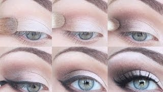 STEP BY STEP EYESHADOW TUTORIAL - FOR ALL EYE SHAPES!