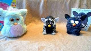 getlinkyoutube.com-Furby 2012 VS Furby 2005 VS Furby 1998