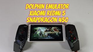 Dolphin test Snapdragon 450 Gaming/Gamecube games/Adreno 506 Best settings Redmi 5