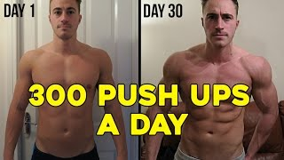 getlinkyoutube.com-300 PUSH UPS A DAY FOR 30 DAYS CHALLENGE (My body results)