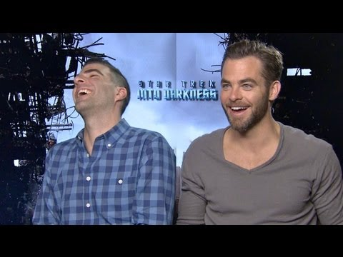 STAR TREK INTO DARKNESS Interviews: Pine, Quinto, Cumberbatch, Saldana, Pegg, Urban, Eve and Abrams