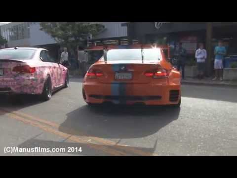 Wide-Body & Straight Piped BMW E92 M3 Sounds & Getting A Ticket
